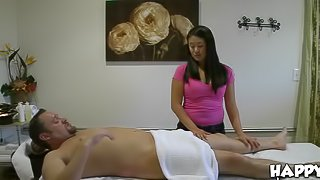Wonderful Erotic Massage By a Chubby and Kinky Asian
