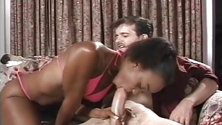 Tasty Black Treat Nailed By A White Guy