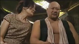 Lustful Asian mom rides a hard prick and indulges in intens