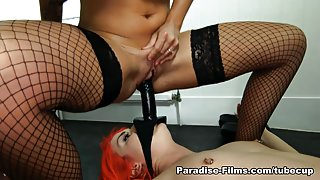 Kimmy Cumlots & Candy Sexton in Girl Lesbian Initiation - Paradise-Films