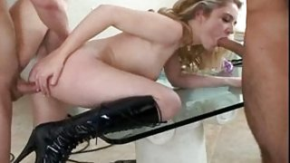 Amazing pornstar Tobi Pacific in horny blowjob, cunnilingus adult movie