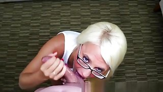 Hottest Amateur movie with Blonde, POV scenes