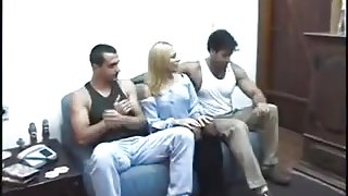 Milf Wife contract 2 Men to fuck her Ass