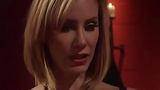 Hot Blonde Milf Tied and Fucked His Slave With Strapon