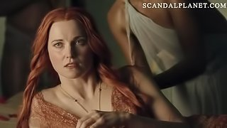 Lucy Lawless Nude Sex Scene In Front Of Slaves on ScandalPlanetCom