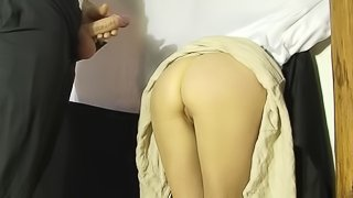 Fucking a tight pussy in the wall - Matthias Christ