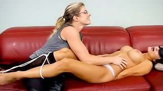 Naked Chi Chi Medina Tickled by Cory Chase