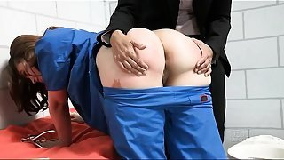 Prison Guard Ass Fucked The Innocent Lesbian