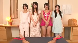 Asian Hotie Enjoy The Thrill Of A Massive Cock In Group Sex