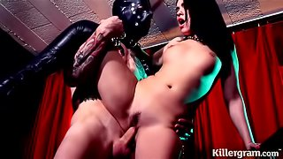 Killergram Ava DaLush is a sub slut slave who loves to serve her Master