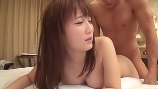 Big-titted Japanese sweetheart having her little cunt ravaged