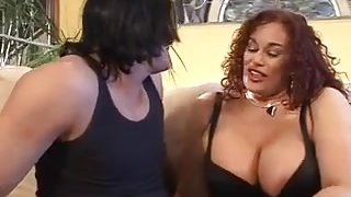 Busty MILF GIna DePalma Fucks and Sucks