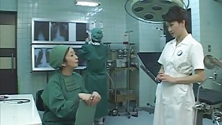 Cosplay Porn: Asians Nurses Cosplay Japanese MILF Nurse Fucked Doctors Office part 3