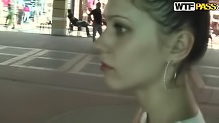 Shopping in Turkey is worth sucking a hard cock for her