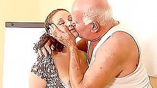 Pregnant Hoe Gets Fucked By An Old Man