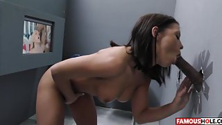 Adriana Chechik Takes A BBC At The Famous Hole
