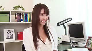 Eye-catching Japanese slut gets fucked as her pussy toyed in this compilations