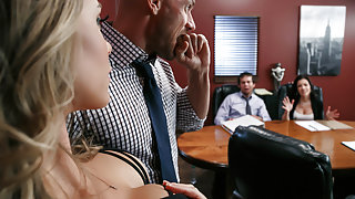 Nicole Aniston & Johnny Sins in A Union Nutbuster - Brazzers