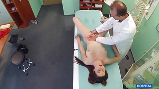 Ryta in Petite redheads sexual skills makes doctor cum twice - FakeHospital