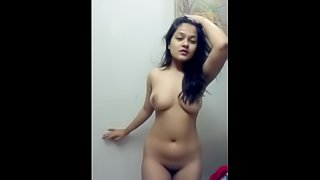 Indian Girlfriend Self record