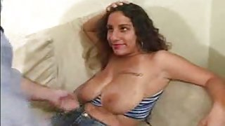 Indian whore with big natural tits gets her cunt humped