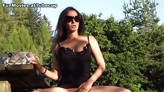 Cora Kitty in Pussy In The Park - FunMovies