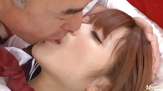Riona Minami hot school day fuck