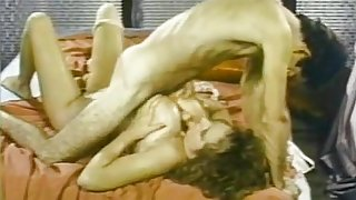 Becky Savage, Busty Belle, Candy Samples in vintage sex scene