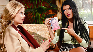 Jessa Rhodes & Peta Jensen & Bill Bailey in To Catch A Cheat - Brazzers