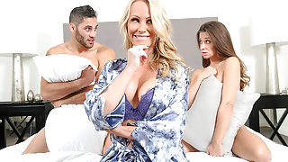 Cassidy Klein & Simone Sonay & Damon Dice in After Party Mix - Brazzers