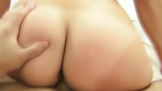 Sexy Babe Jerking And Fucking A Hard Cock In A Job Interview