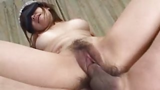 Japanese sex clip with slut getting a facial