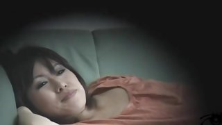 Perfect Japanese enjoys some solo fun in Japanese sex video