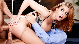 Britney Amber & Keiran Lee & Michael Vegas in The Interview: Round 2 - Brazzers