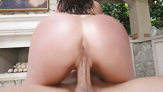 TittyAttack - Big Tit Australian Oiled Up & Titty Fucked