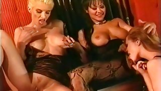 Asia Carrera Has An All Girl Orgy