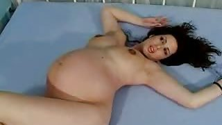 Soon to be married milf masturbates her hairy snatch