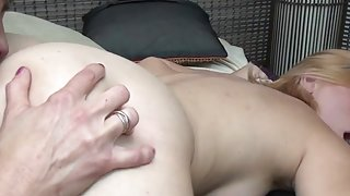 Wife next door and her young lesbian lover