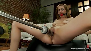 Pussy Go Round: FuckingMachines Orgasm-a-thon with The Squirming, Sexy, Hotness of Lexi Belle