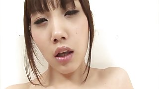 Ageha Kinashita in watch throughout underware toys her oiled vagina