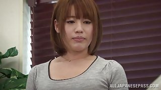 Riko Honda Asian milf amazes dude with her pussy