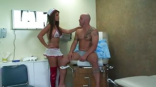 Bridgette B slammed by her patient