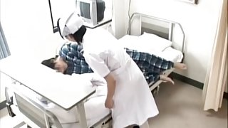 Hardcore Japanese fuck for a hot nurse in the hospital