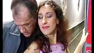 Turkish Teen Gets Gets Fucked By A Big Cock On The Stairs
