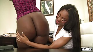 Destiny Dymes in Evanni Solei And Destiny Dymes Eat Each Other Out - Wankz