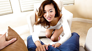 Alina Li & Mick Blue in College Sexual Guidance Counselor