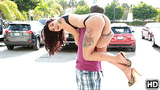 Chad White & Gina Valentina in Leave it to cleavage - 8thStreetLatinas