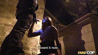 Eva in The Graveyard Shift : Halloween anal sex special - FakeCop