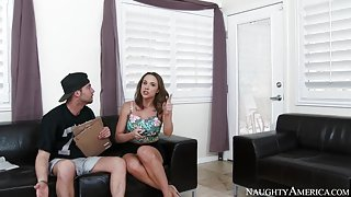 Chanel Preston & Seth Gamble in My Dad Shot Girlfriend