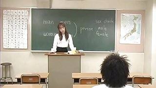 Manami Suzuki Sexy Asian teacher part2